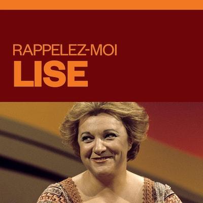 Rappelez-moi Lise, audionumérique.