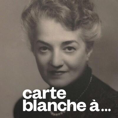 Portrait en noir et blanc d'Antonia Nantel.