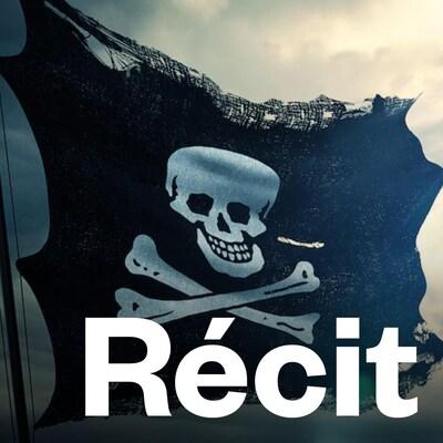 Le drapeau noir orné d'une tête de mort est un symbole traditionnel de la piraterie.