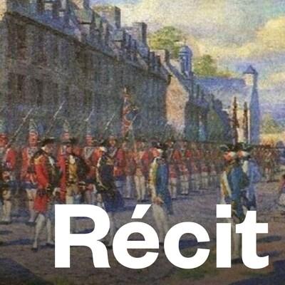 Une peinture datant de 1800 d'un artiste inconnu montrant la capitulation de Montréal en 1760.