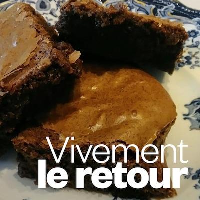 Le brownie de Manon Houle.