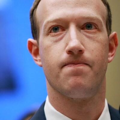 Mark Zuckerberg, le patron de Facebook au congrès américain.