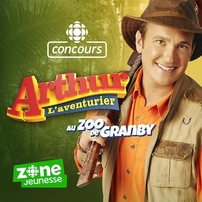 Concours Jeunesse : Arthur L'aventurier au zoo de Granby grâce à Radio-Canada