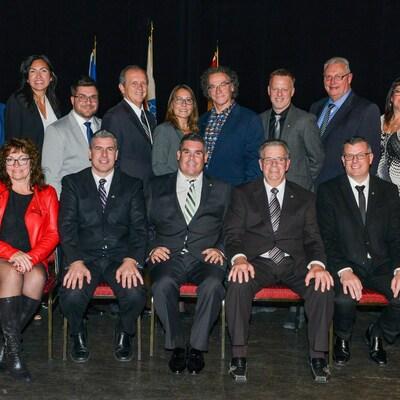 Nouveau conseil municipal de Terrebonne.