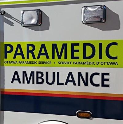 Une ambulance à Ottawa. (Archives)
