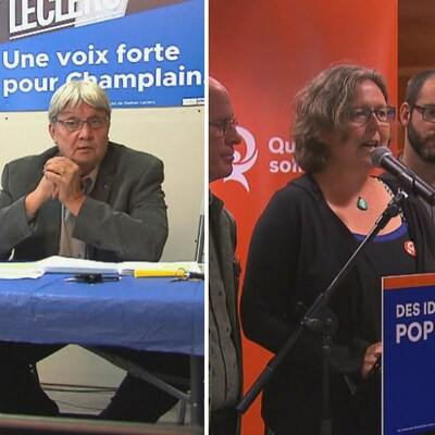 Trois candidats