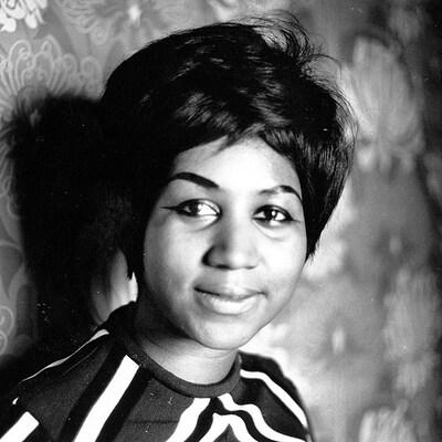 Aretha Franklin durant les années 1960.