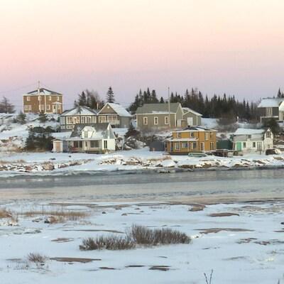Plusieurs résidences de Baie-Johan-Beetz