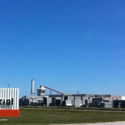 L'usine de Béton Provincial, à Matane.