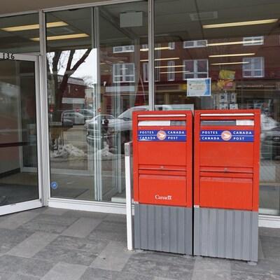 Le bureau de Postes Canada à Rimouski