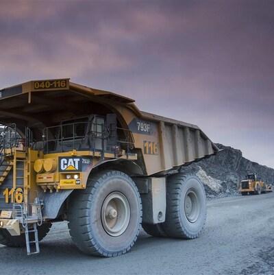La mine Canadian Malartic