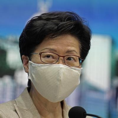 Carrie Lam, cheffe du gouvernement local de Hong Kong