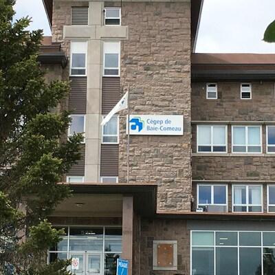 La façade du cégep de Baie-Comeau.