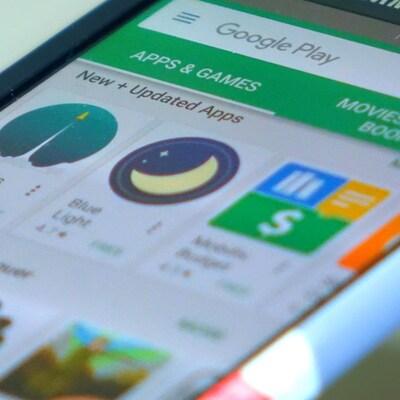 Une page du magasin Google Play affichant plusieurs jeux gratuits.