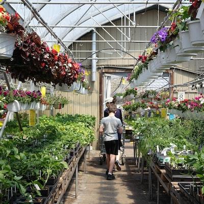 Le Centre Jardin Bourbeau, à Québec, a connu l'une de ses journées les plus occupées de l'année.