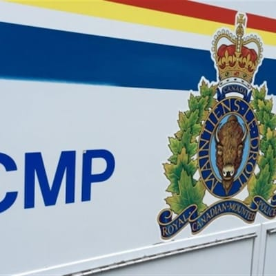 Le logo de la Gendarmerie royale du Canada (GRC).