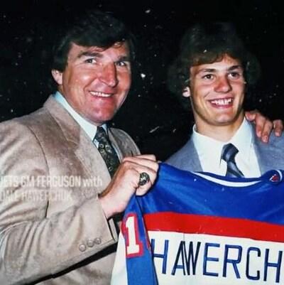 Dale Hawerchuk et John Ferguson.