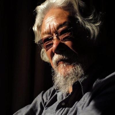 Photo de l'environnementaliste David Suzuki