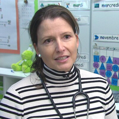 Dre Élaine Deschênes, pédiatre sociale.