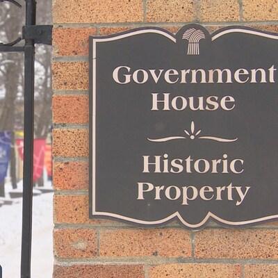 La maison du lieutenant-gouverneur Government House, à Regina.