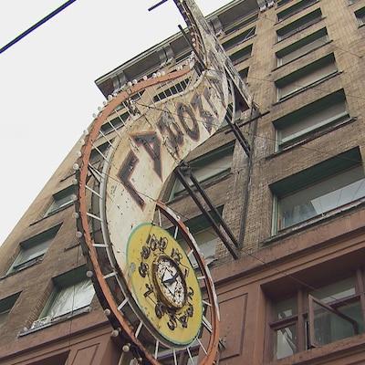 L'hôtel Balmoral à Vancouver