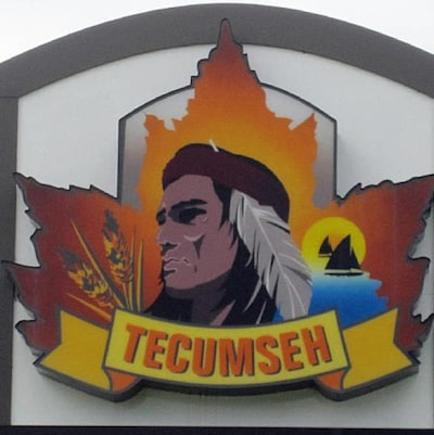 Une image représentant un chef indien avec l'inscription Tecumseh en dessous.