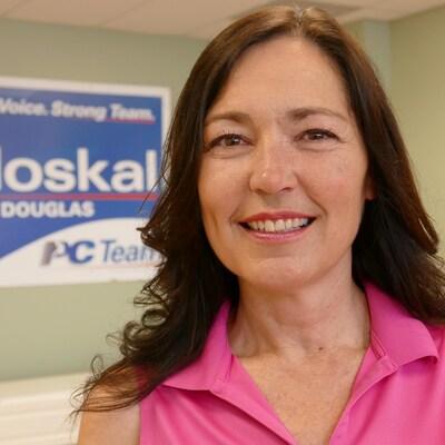 L'ancienne présidente de la Chambre de commerce de Winnipeg, Jodi Moskal.