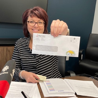 Lisa Dionne, directrice générale des services d'évaluation foncière de Service Nouveau-Brunswick.