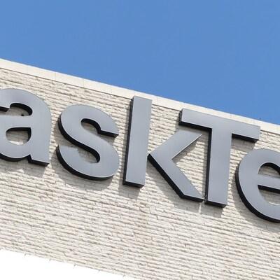 Logo de SaskTel.