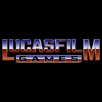 Le logo de Lucasfilm Games.