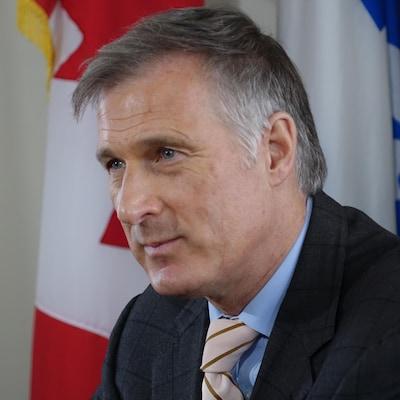 Le député conservateur Maxime Bernier (archives)