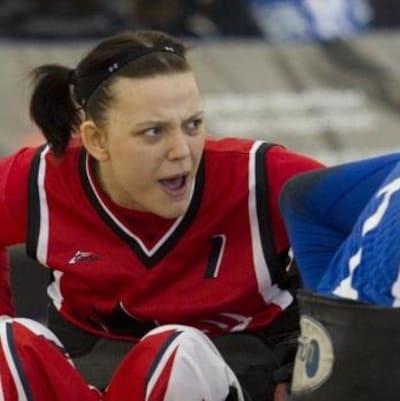 L'athlète paralympique Miranda Biletski