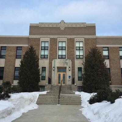 Palais de justice de Ville-Marie, au Témiscamingue.