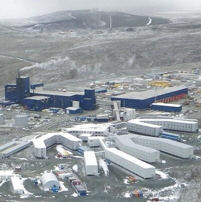 La mine Raglan, au Nunavik