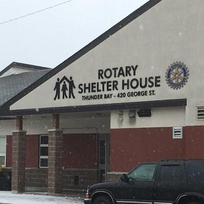 Le refuge pour sans-abri, Shelter House.