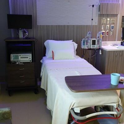 L'unité de services de sages-femmes à l'Hôpital Markham-Stouffville.