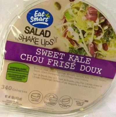 Une salade Eat Smart, dans son emballage de 156 grammes.