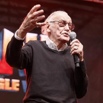 Le créateur de BD Stan Lee
