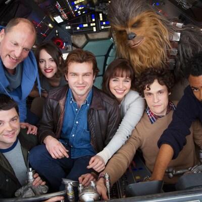 La distribution du film sur Han Solo