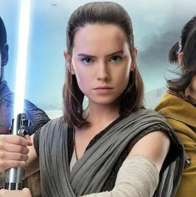 Les photos des 3 personnages de l'épisode 8 de Star Wars