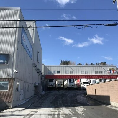 L'usine d'Olymel à Vallée-Jonction