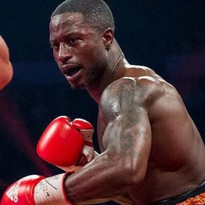 Le boxeur Custio Clayton