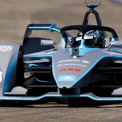 La formule E Gen 2 (de deuxième génération) aux mains de Nico Rosberg à Berlin