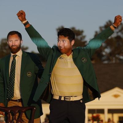 Deux golfeurs