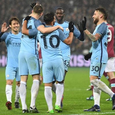 L'équipe de Manchester City