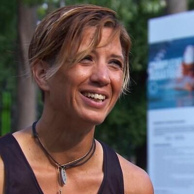 Nadia Muselle en entrevue
