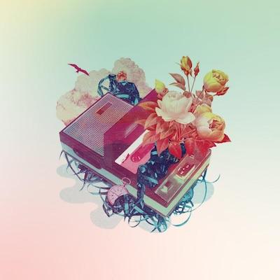 """La pochette de l'album """"Le ruban de la cassette"""", d'Anique Granger (2019)."""