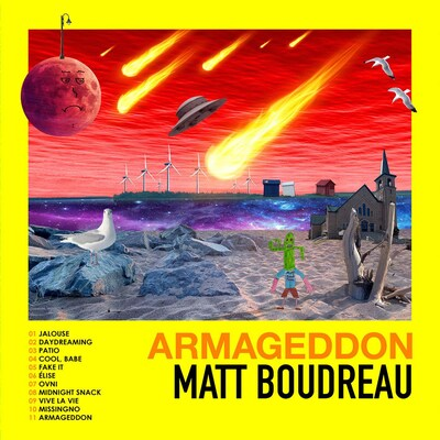 "La pochette de l'album ""Armageddon"", de Matt Boudreau (2020)."