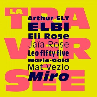 """La pochette de l'album """"La Traversée"""" ."""