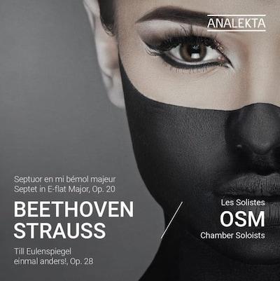 Couverture de l'album Beethoven/Strauss des solistes de l'OSM
